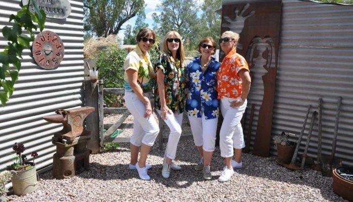 Girragirra guests enjoying dressing up for the Elvis Festival